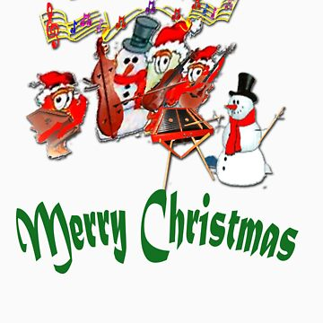 Merry Christmas Chums by RareTexasGifts