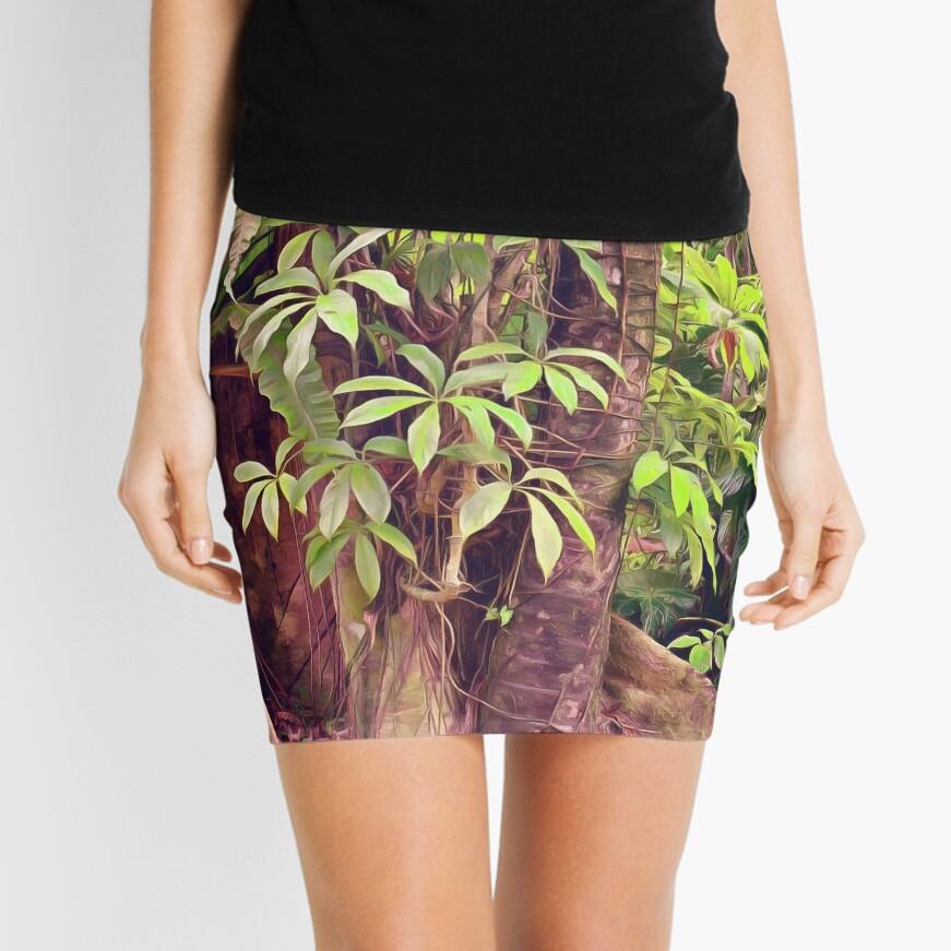 Majestic Rainforest Mini Skirt