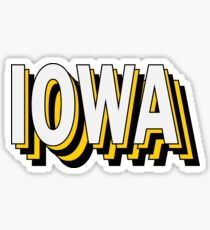Iowa Stacked Sticker