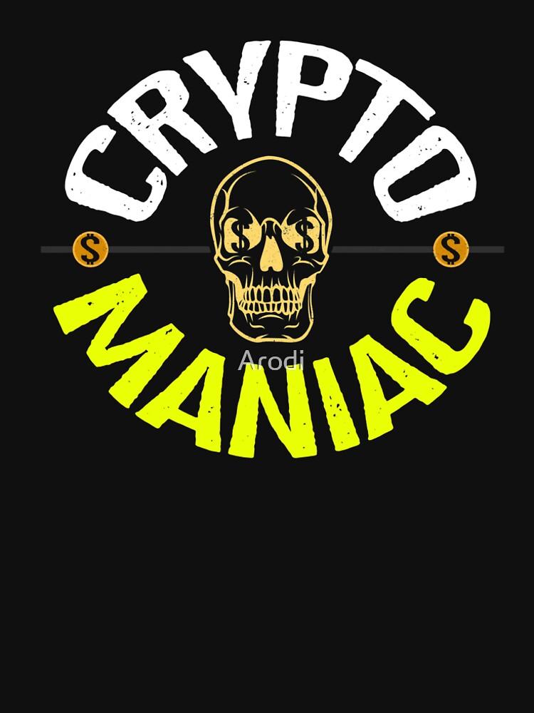 Camiseta para fanáticos de las criptomonedas by Arodi