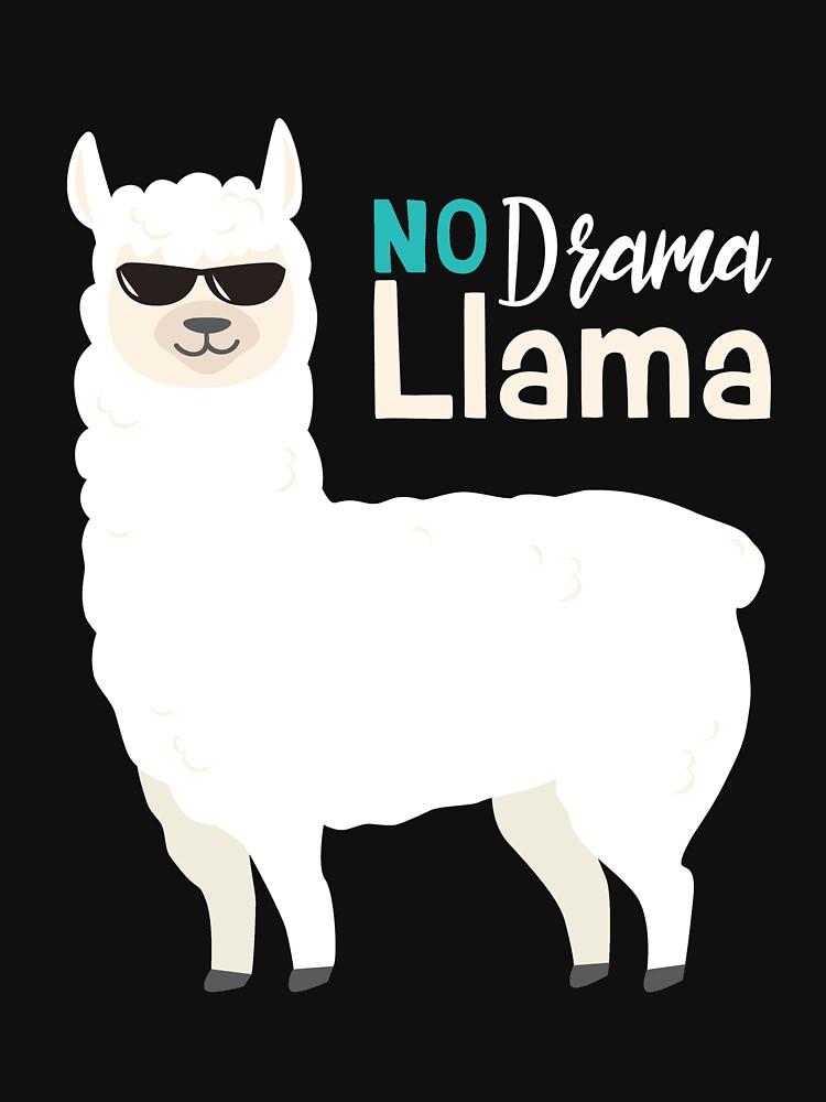 No Drama No Lama by IchliebeT-Shirt