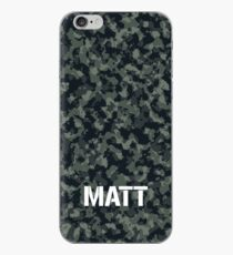 Camouflage Personalized For Matt iPhone Case