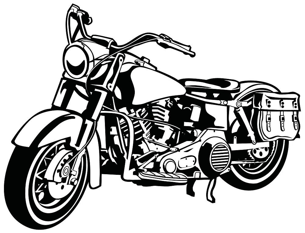Chopper / motorcycle 10_black by RollOn