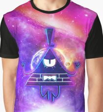 Mistical Pyramid - Enigmatic Space Graphic T-Shirt