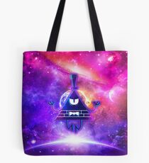 Mistical Pyramid - Enigmatic Space Tote Bag