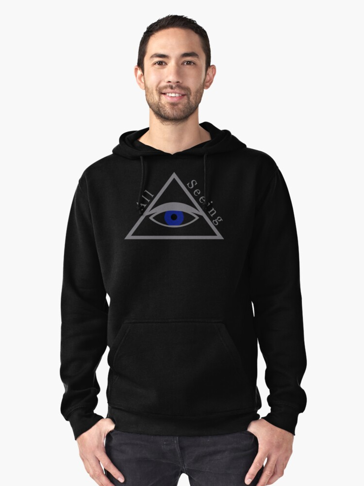 All Seeing Eye of God Pullover Hoodie Front