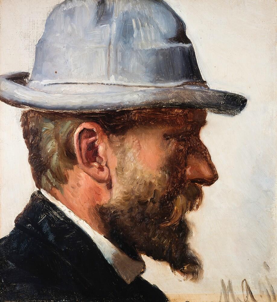Niels Pedersen Mols by Michael Ancher by classicartcache