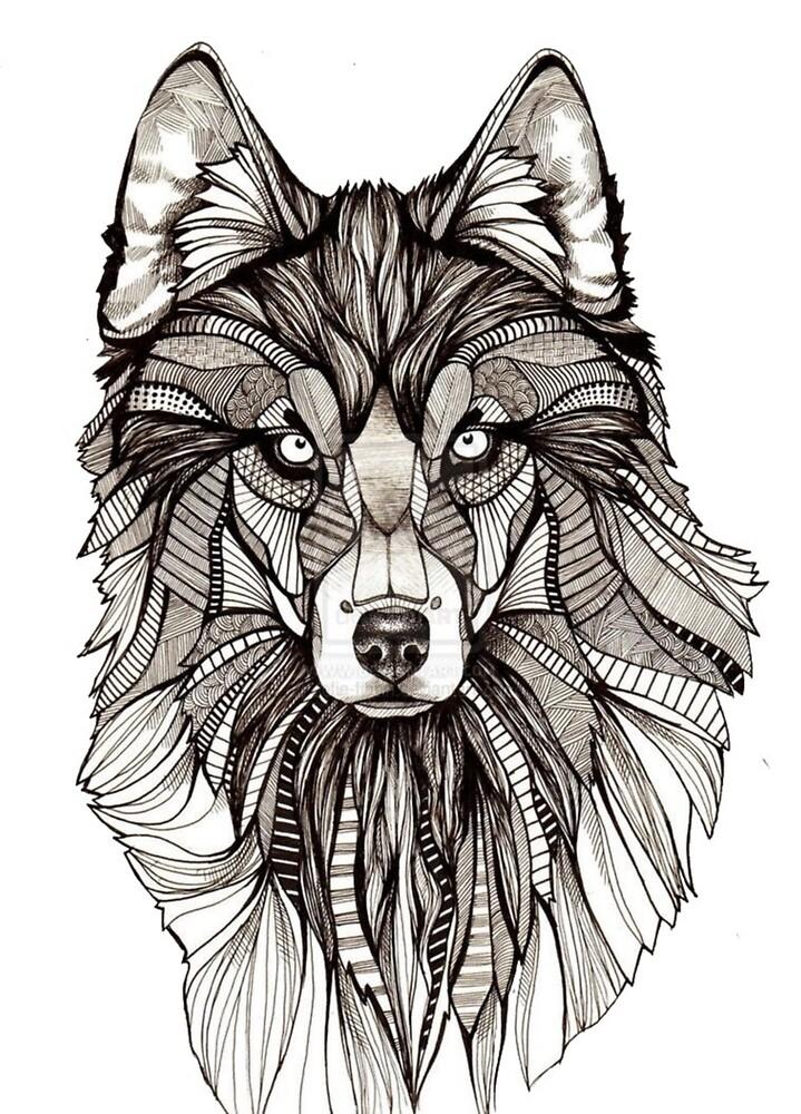 wolf by Rafafa72