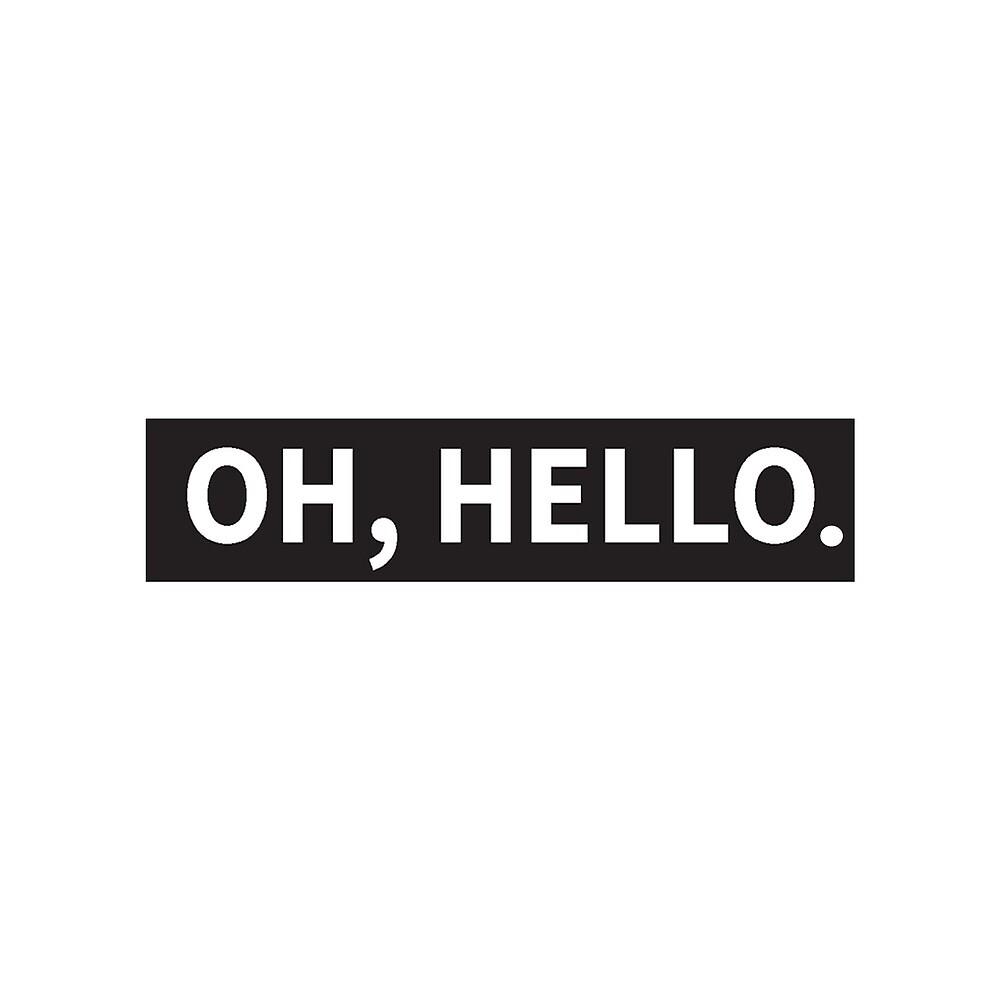 Oh Hello On Broadway by samanthagolub