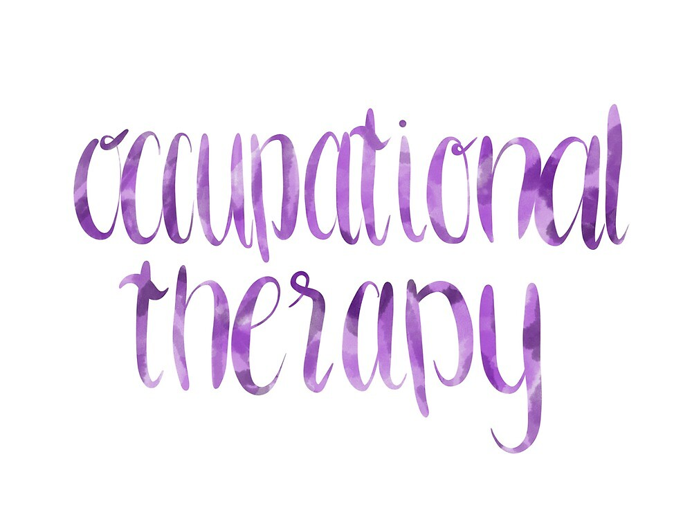Occupational therapy purple by claire-lilian