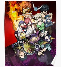 Fairy Tail Posters Redbubble