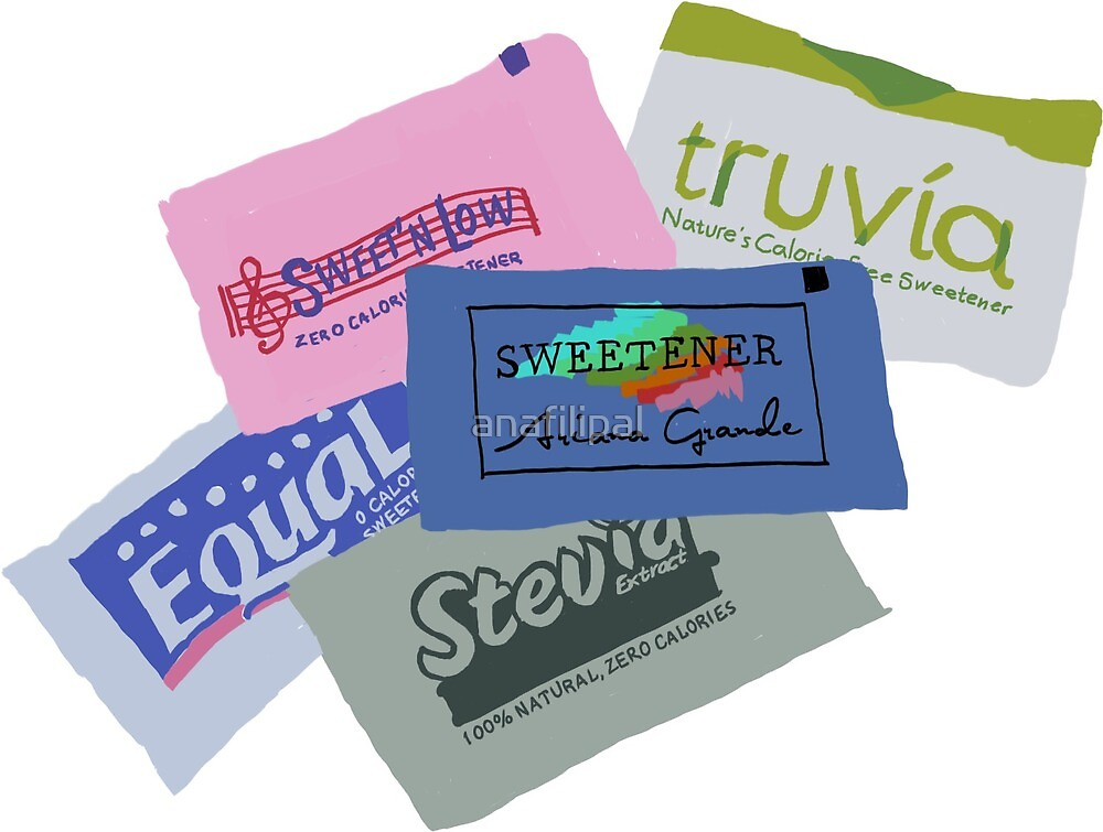 Sweetener Packets  by anafilipal