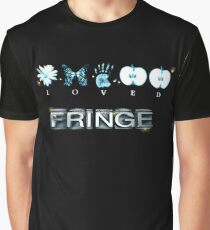 FRINGE - FRINGE Glyphs Alphabet Graphic T-Shirt