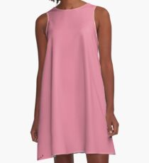 Pink Morning A-Line Dress