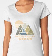 Camiseta premium para mujer Death Valley California, Nevada apenado