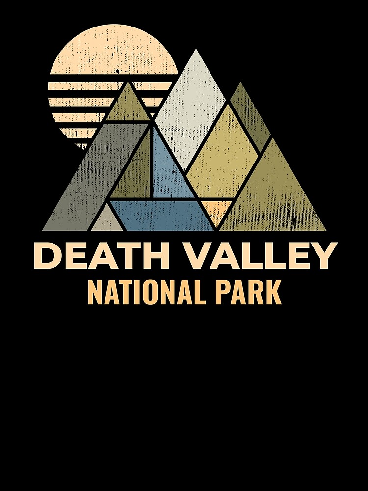 Death Valley California, Nevada Distressed by NationalParksCo