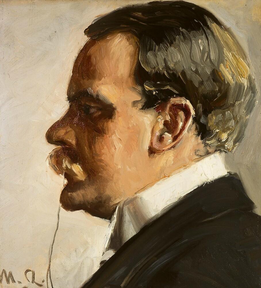 Hakon Borresen by Michael Ancher by classicartcache