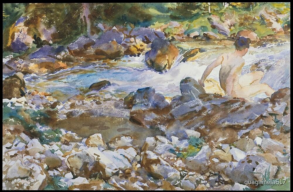 Mountain Stream by guagamela617