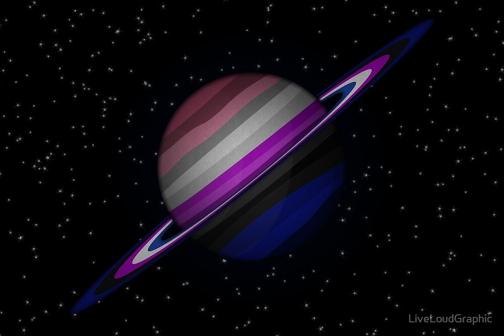 Gender Fluid Planet by LiveLoudGraphic