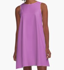 Lavender Beauty A-Line Dress