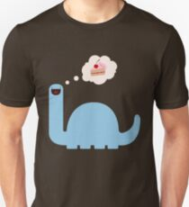Kuchen-o-saurus Slim Fit T-Shirt
