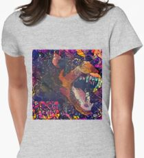 Abstract Without Warning Women's Fitted T-Shirt