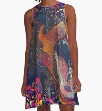 Abstract Without Warning A-Line Dress