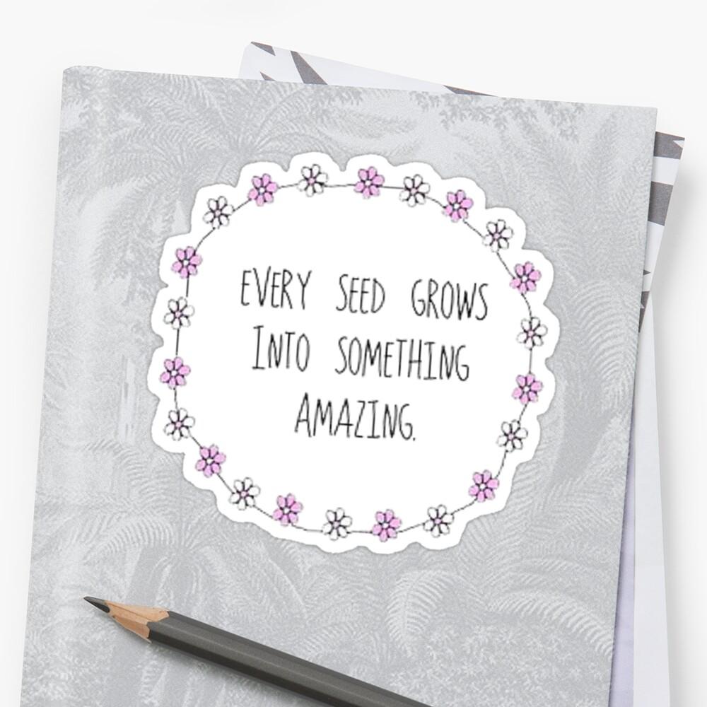 Every Seed by GwynethEmily