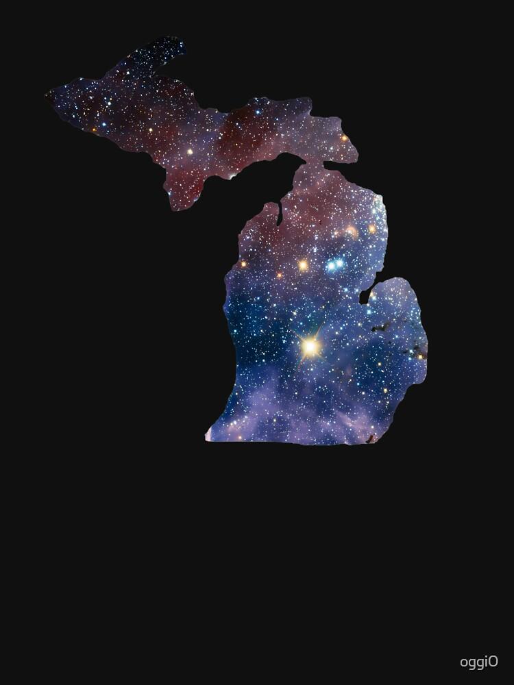 Michigan Great Lakes State Mitten by oggi0