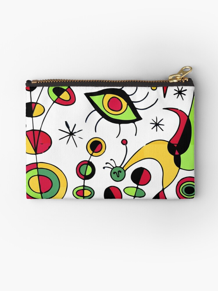 Joan Miro Peces De Colores (Colorful Fish ), T Shirt, Artwork Reproduction by Art-O-Rama ®