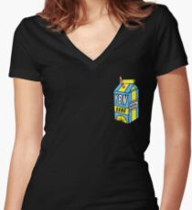 YBN GANG Women's Fitted V-Neck T-Shirt
