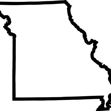 Missouri State Outline by TheMiddleWest