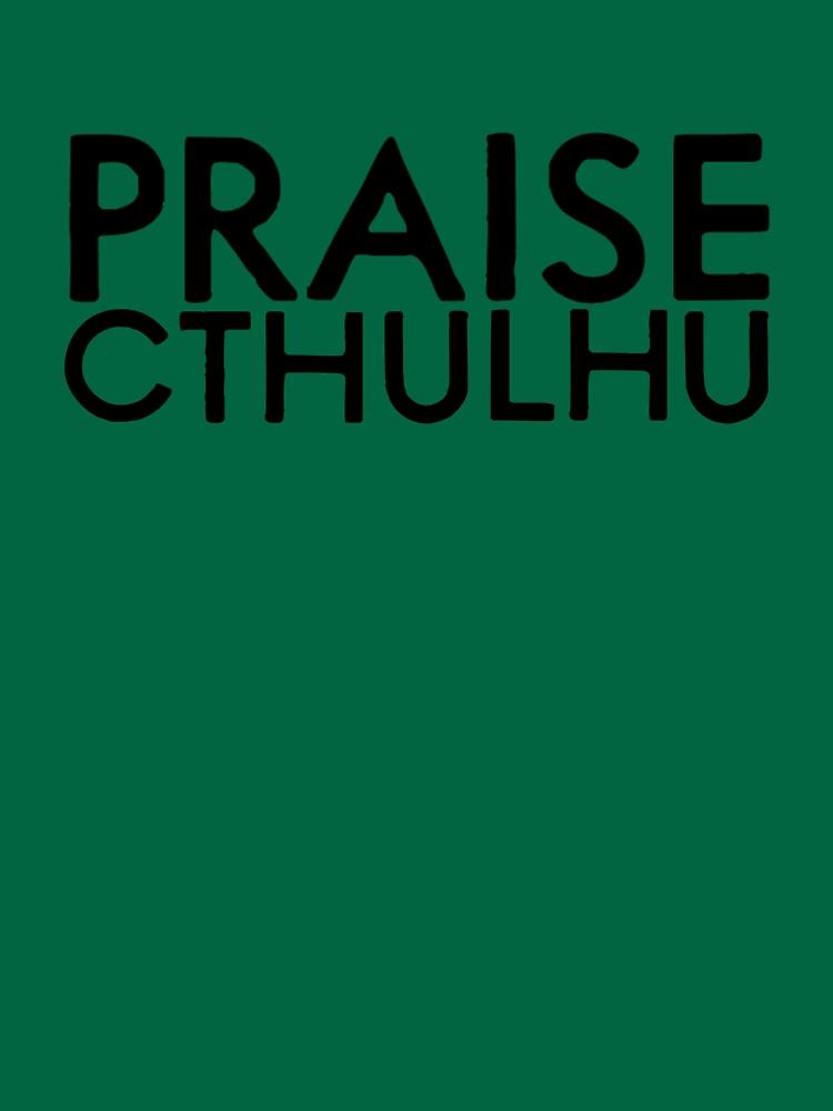 Praise Cthulhu by ItsameWario