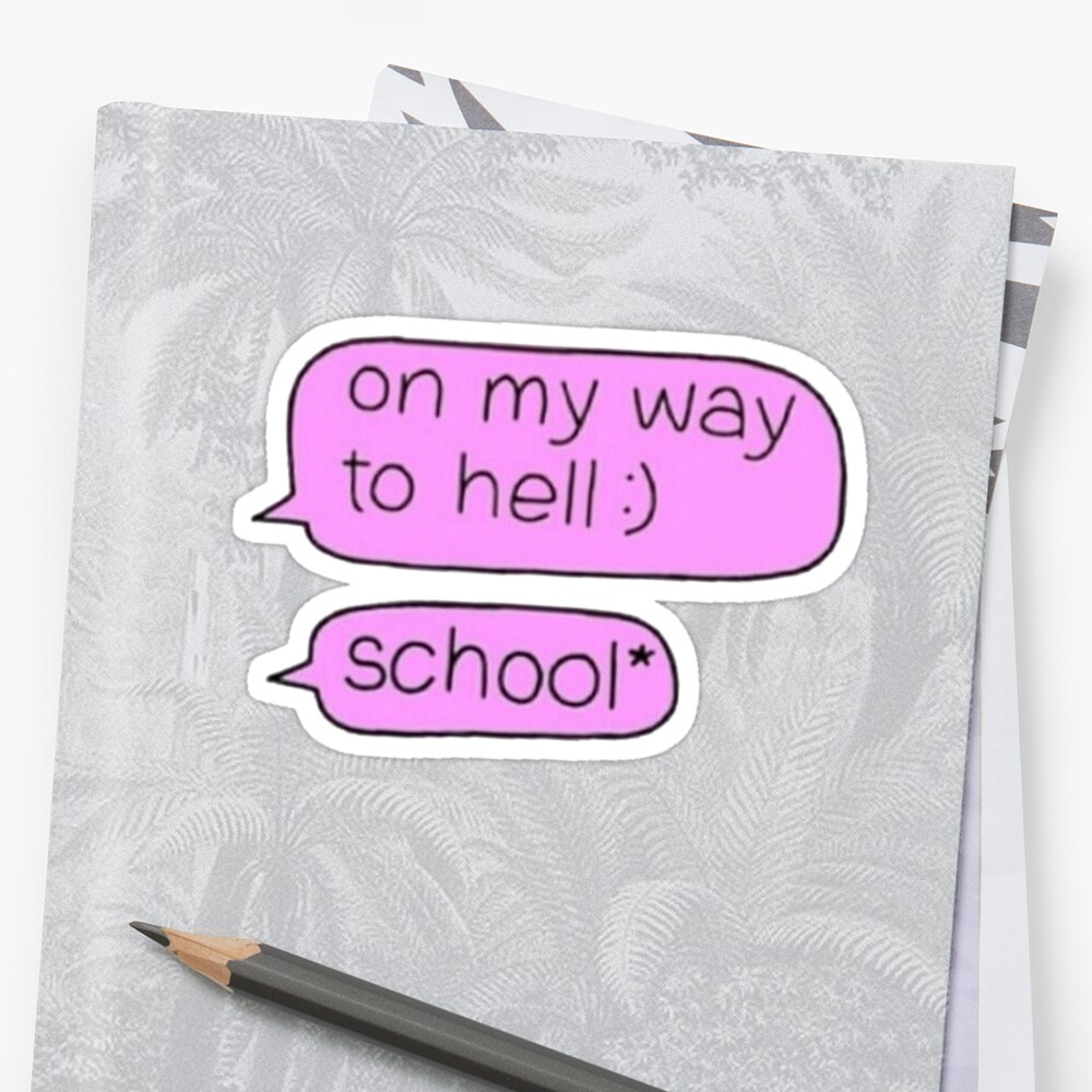 School/Hell by GwynethEmily