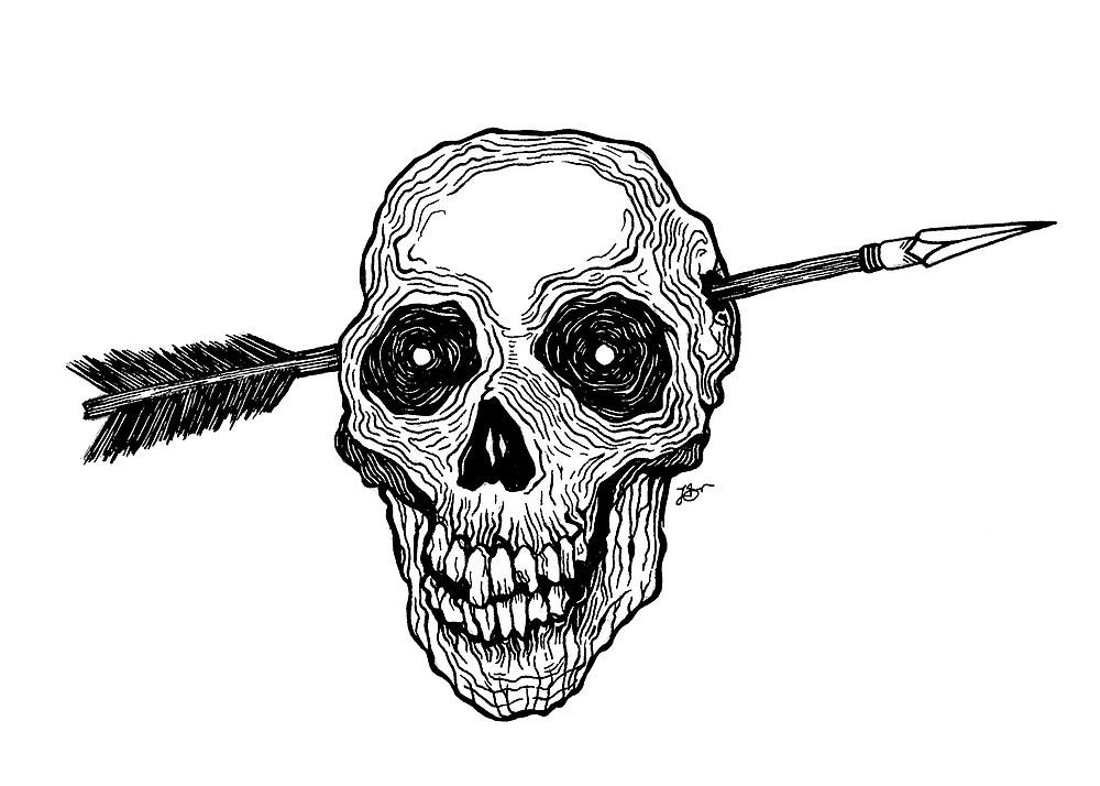 Arrow Through The Skull by Lucy Snow