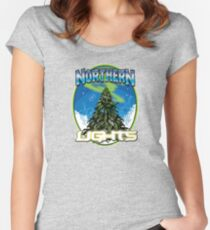 Northren Lights  Women's Fitted Scoop T-Shirt