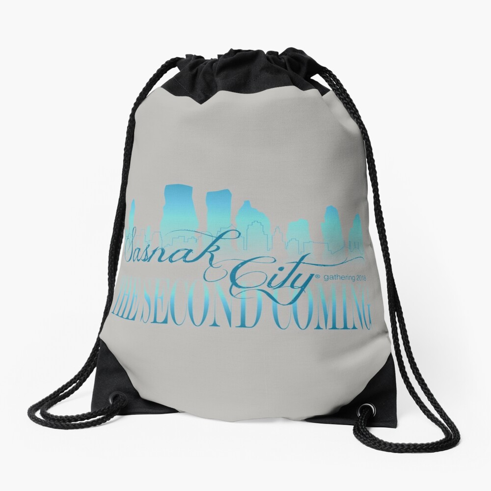 Sasnak City 2nd Coming Drawstring Bag Drawstring Bag