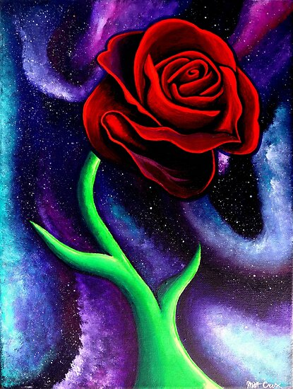 Space Rose by CruxMagic