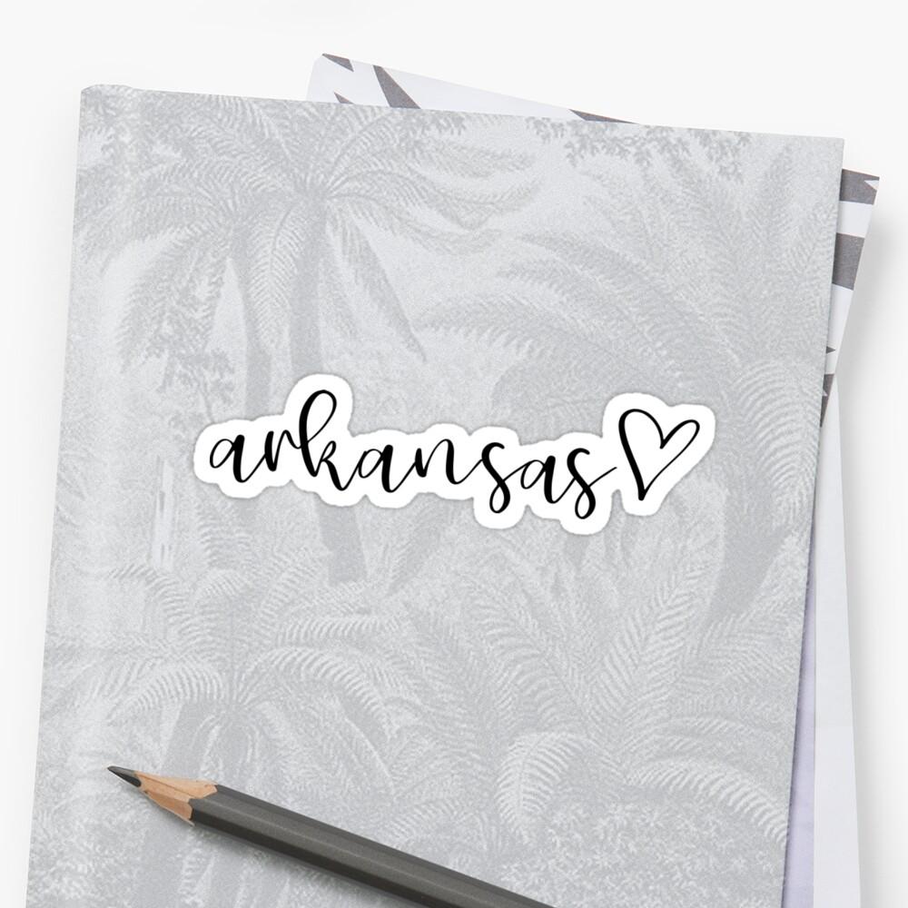 Arkansas by Caro Owens  Designs