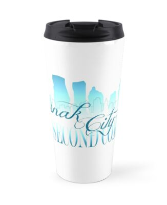 Sasnak City 2nd Coming Travel Mug by SASNAK1