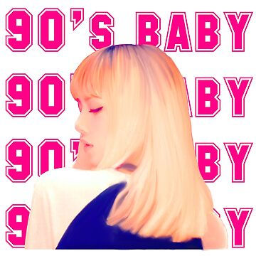 BLACK PINK LISA 90'S BABY DESIGN by gabbstify