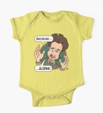Ancient Aliens Guy. Because... Aliens One Piece - Short Sleeve