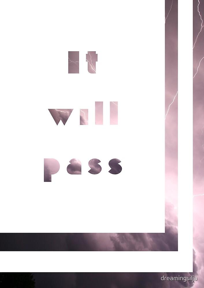 It will pass - borders by dreamingsilja