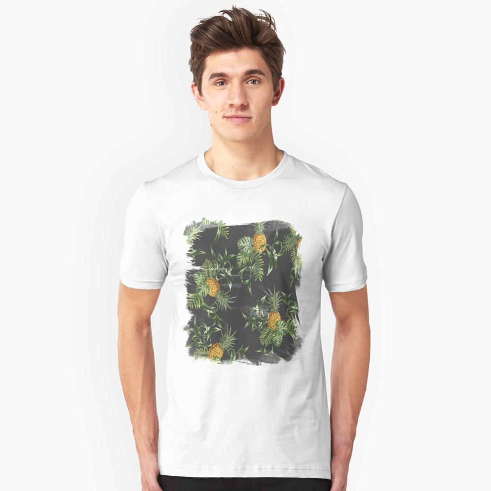 ananas shirt for girls and boys  Unisex T-Shirt Front