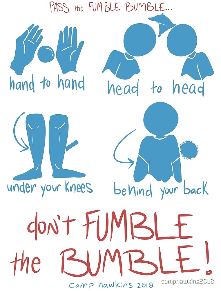 Fumble Bumble by camphawkins2018