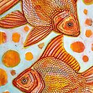 Two Goldfish by Lynnette Shelley