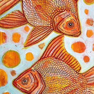 Two Goldfish by LynnetteShelley