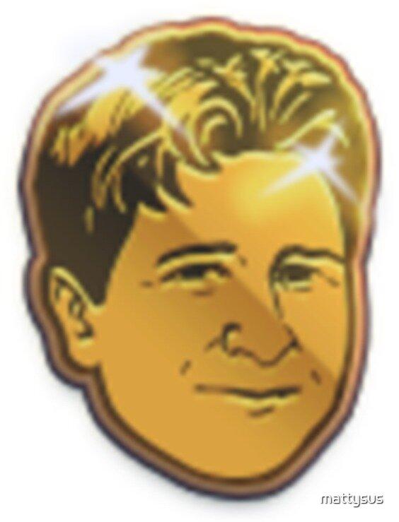 Golden Kappa Twitch Emote by mattysus