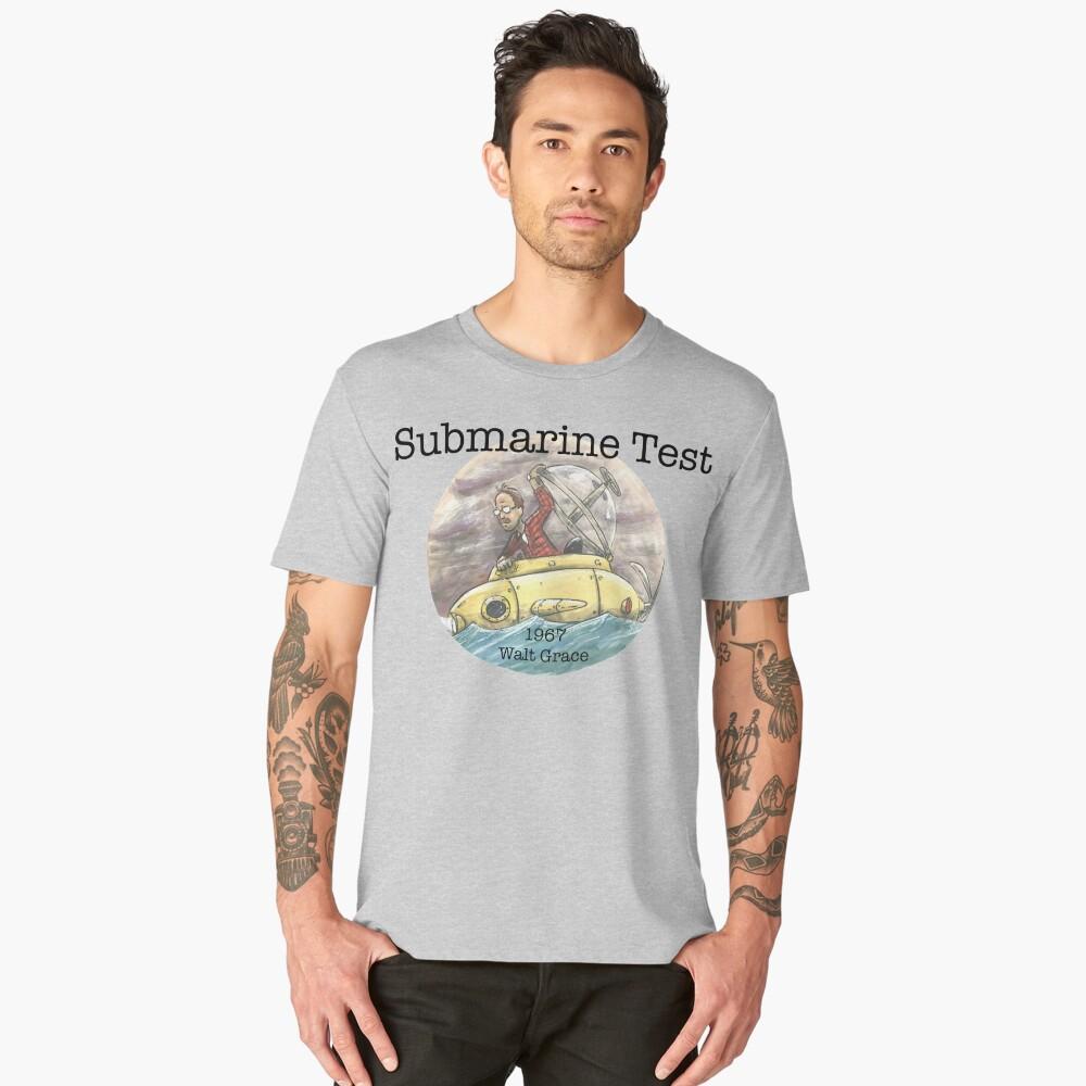 Submarine Test 1967  Men's Premium T-Shirt Front
