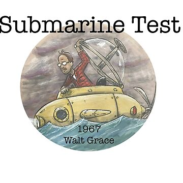 Submarine Test 1967  by EchoSoloArt